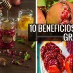 10 Beneficios de la granada roja
