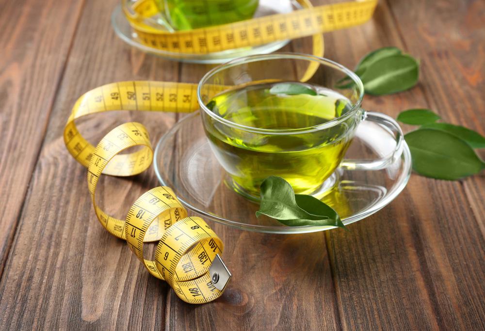 bajar de peso con té verde