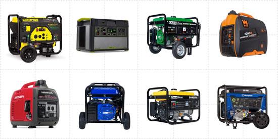 tipos de generadores eléctricos